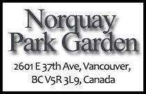 Norquay Park Garden 2601 37th V5R 3L9