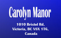 Carolyn Manor 1010 Bristol V8X 1T6