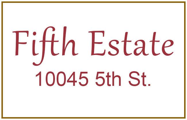 Fifth Estate 10045 Fifth V8L 2X8