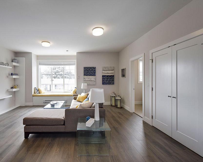 Mt. Waddington Display Home Living Room!