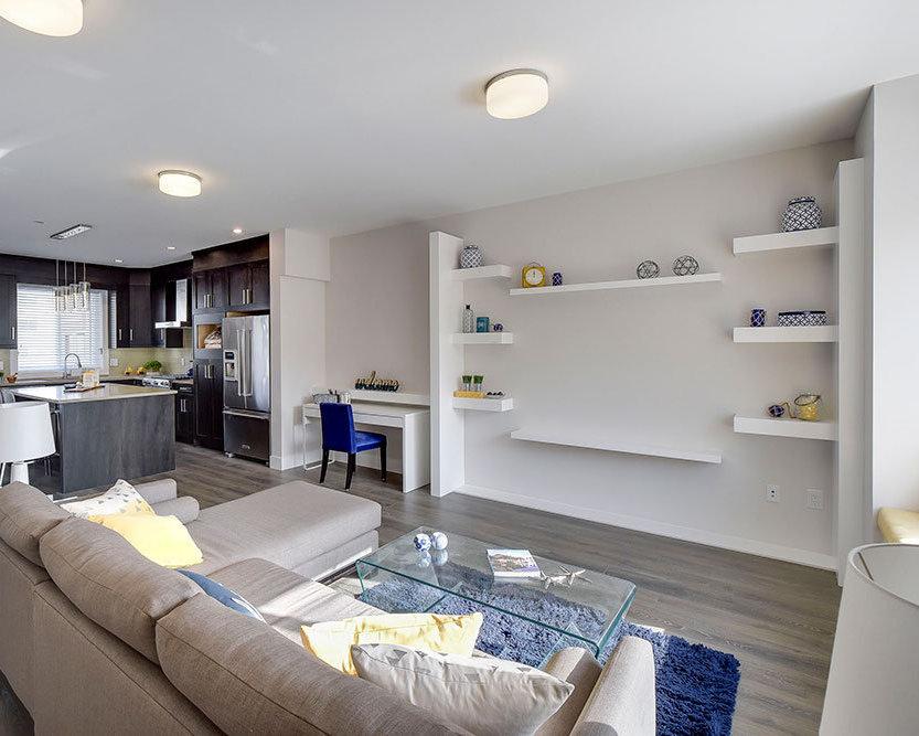 Mt. Waddington Display Home Living Room / Kitchen!