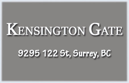 Kensington Gate 9295 122ND V3V 4L4