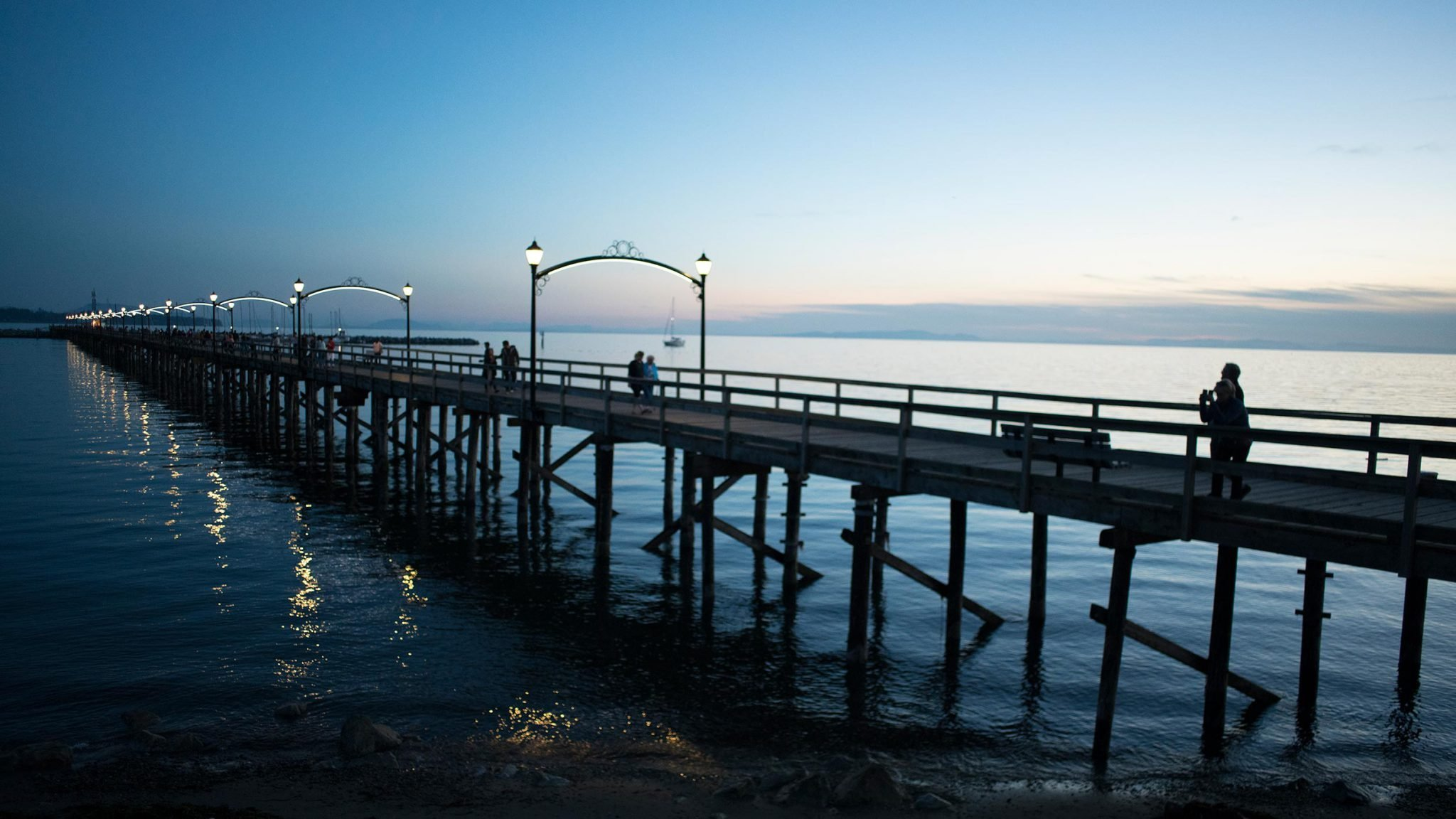 The Pier At Night!