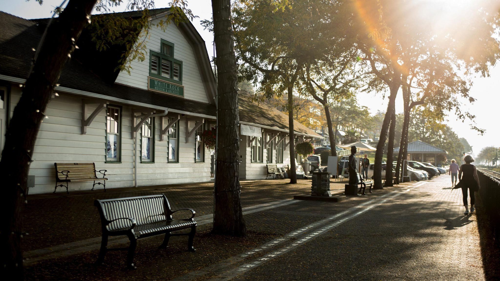 White Rock Museum (Old Train Station)!
