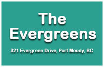 The Evergreens 321 Evergreen V3H 1S1