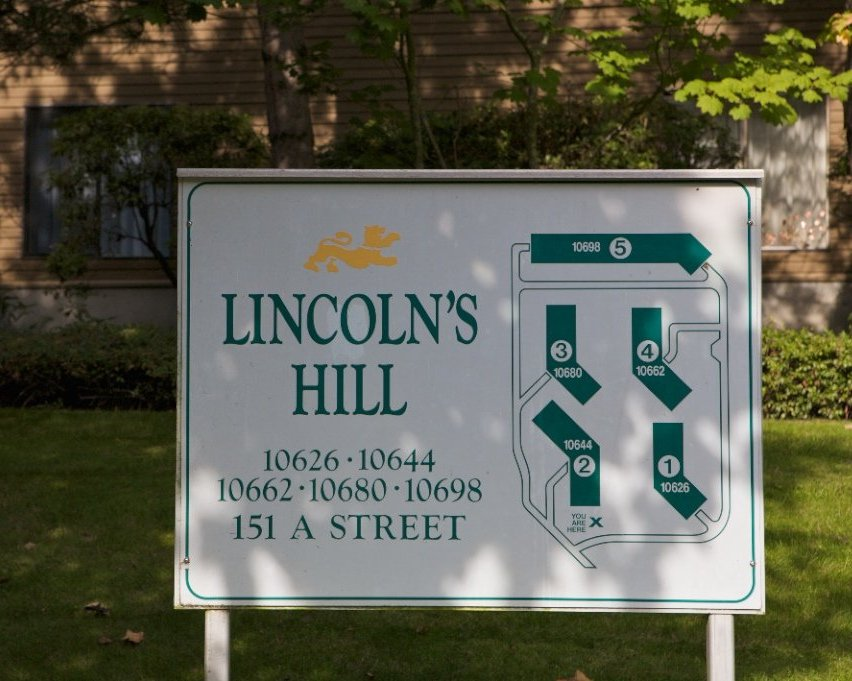 Lincoln's Hill Layout!