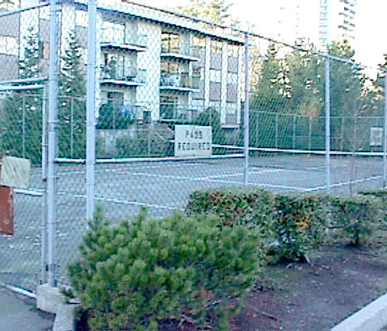 3980 Carrigan Burnaby Tennis Court!