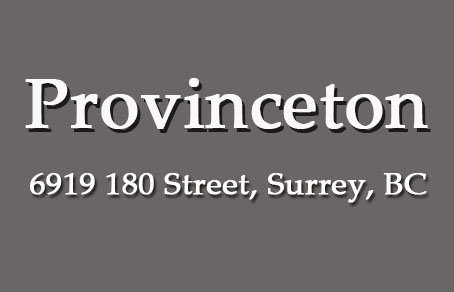 Provinceton 6919 180TH V3S 7S3
