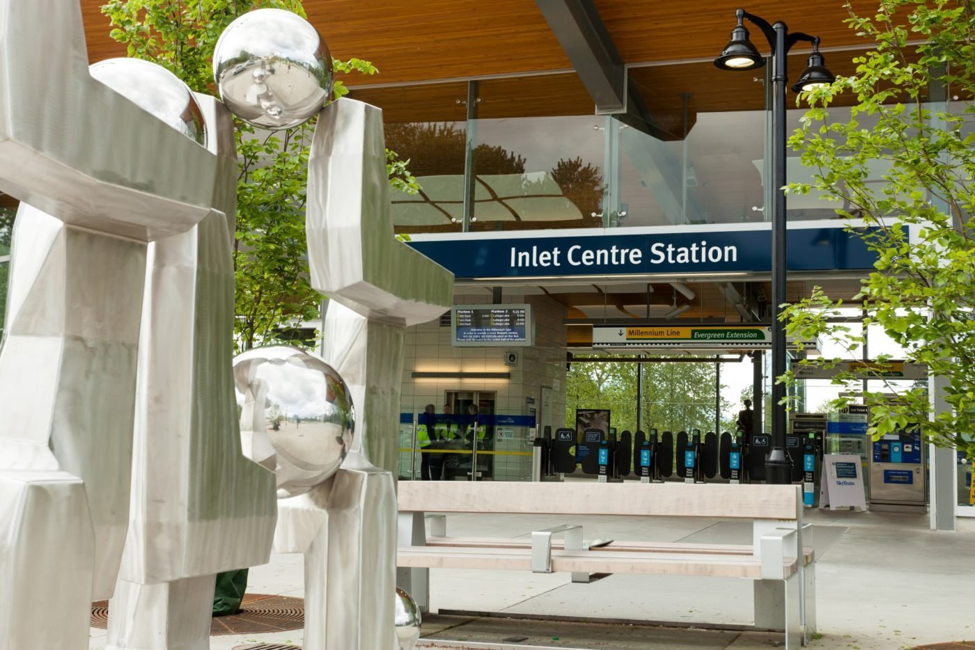 Inlet Centre SkyTrain Station!