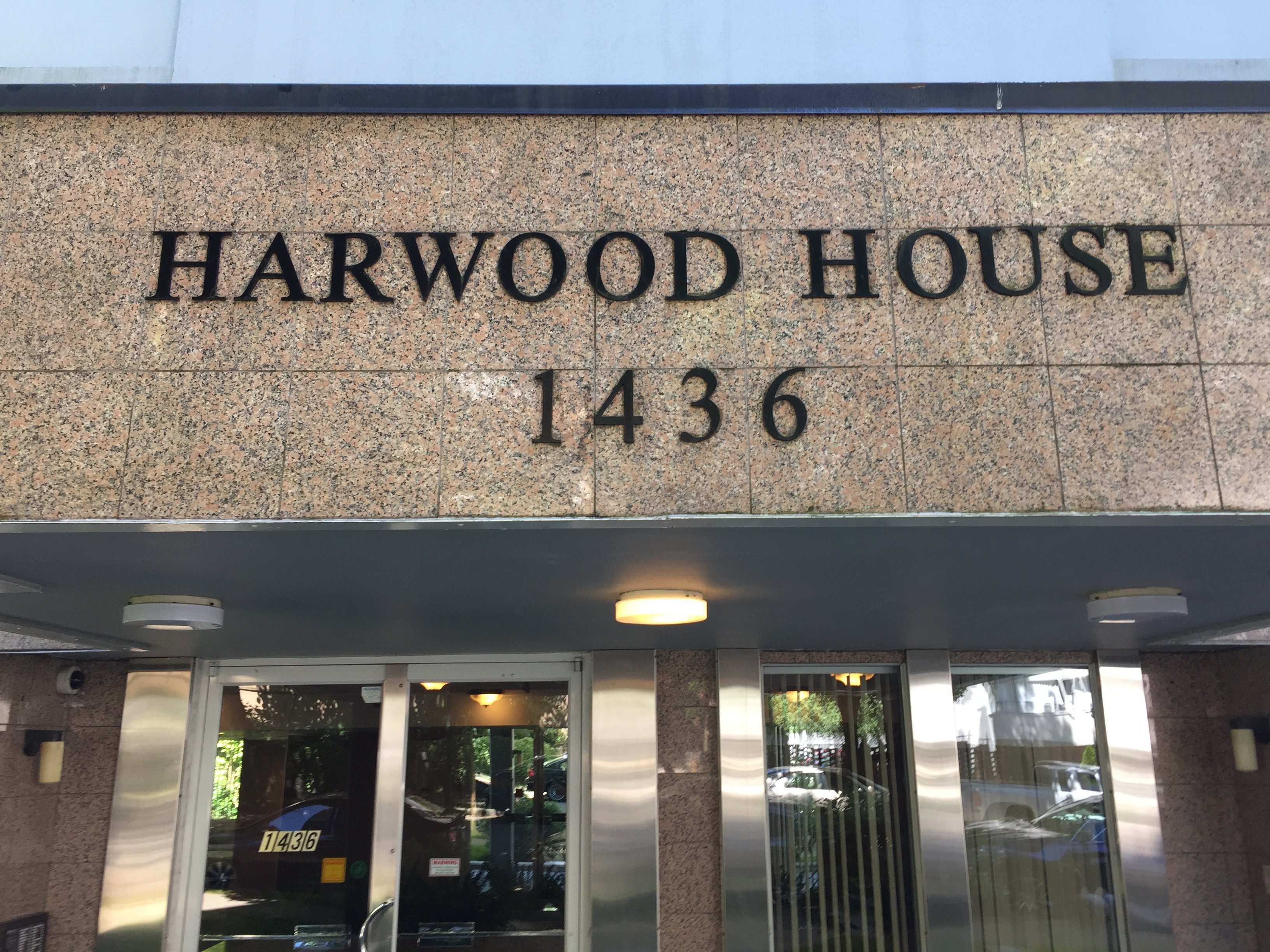 Harwood House Sign!