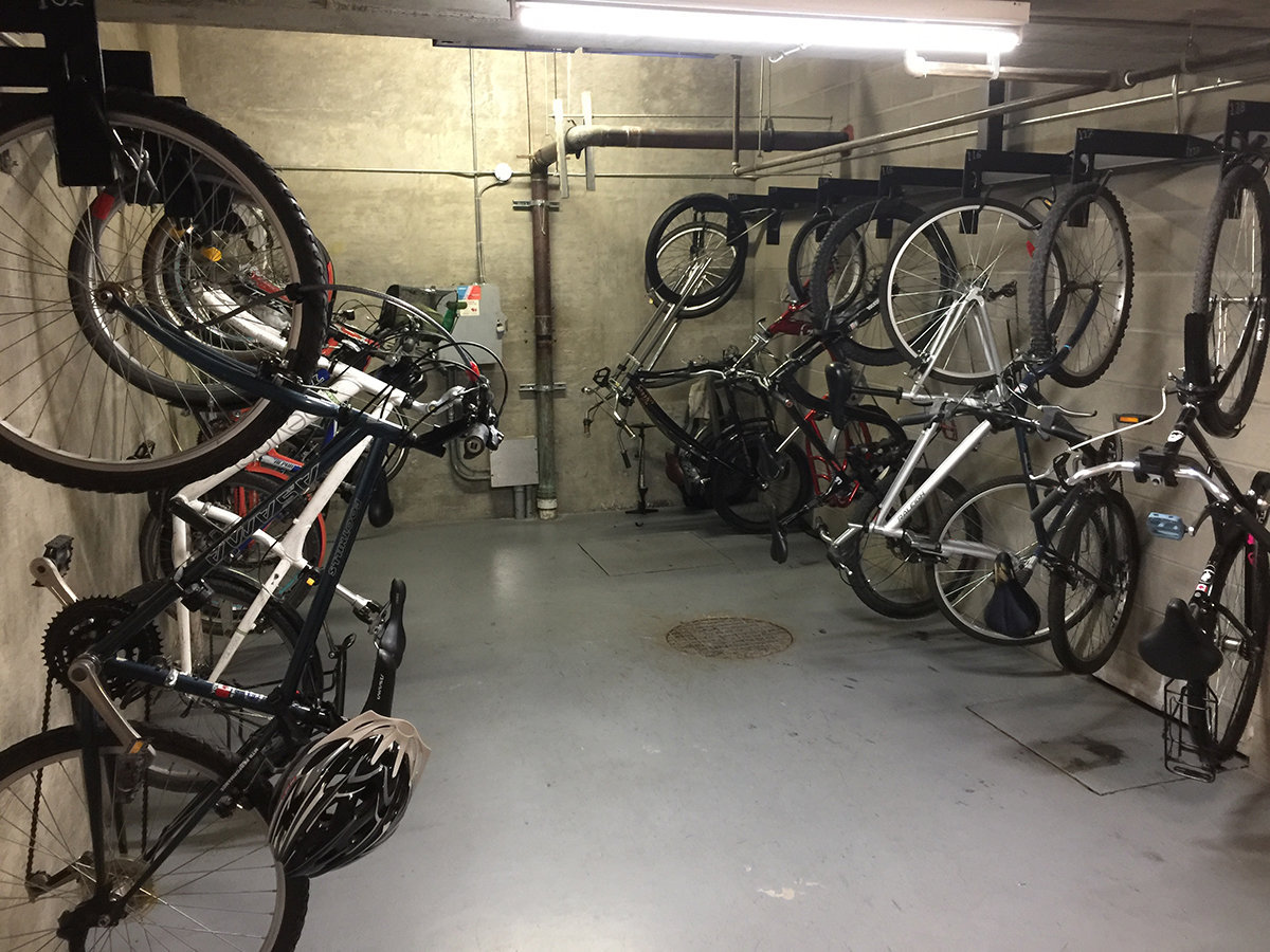 1128 Quebec Bike Storage!