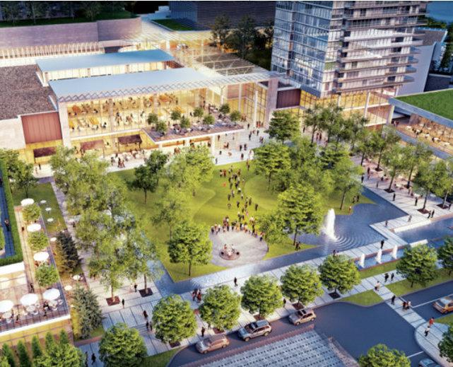 City of Lougheed Plaza!