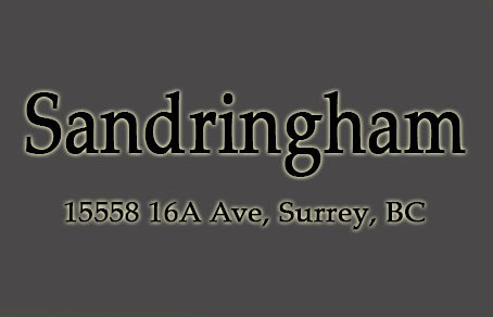 Sandringham 15558 16A V4A 1T3