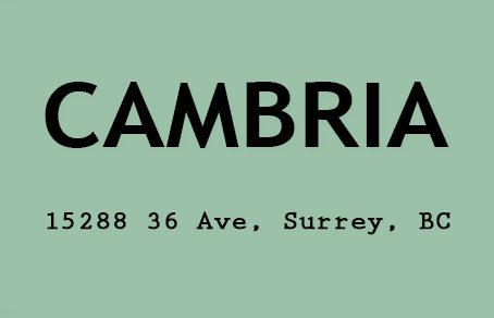 Cambria 15288 36TH V3S 0S6