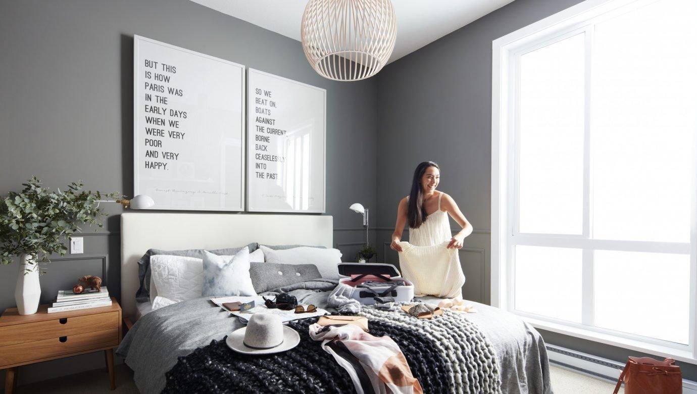 Display Suite Master Bedroom!