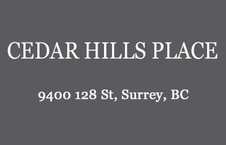 Cedar Hills Place 9400 128TH V3V 5N4