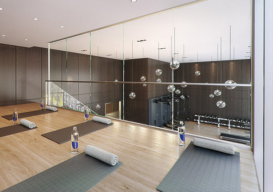 8833 Hazelbridge Way, Richmond, BC V6X 0N3, Canada Yoga Studio!