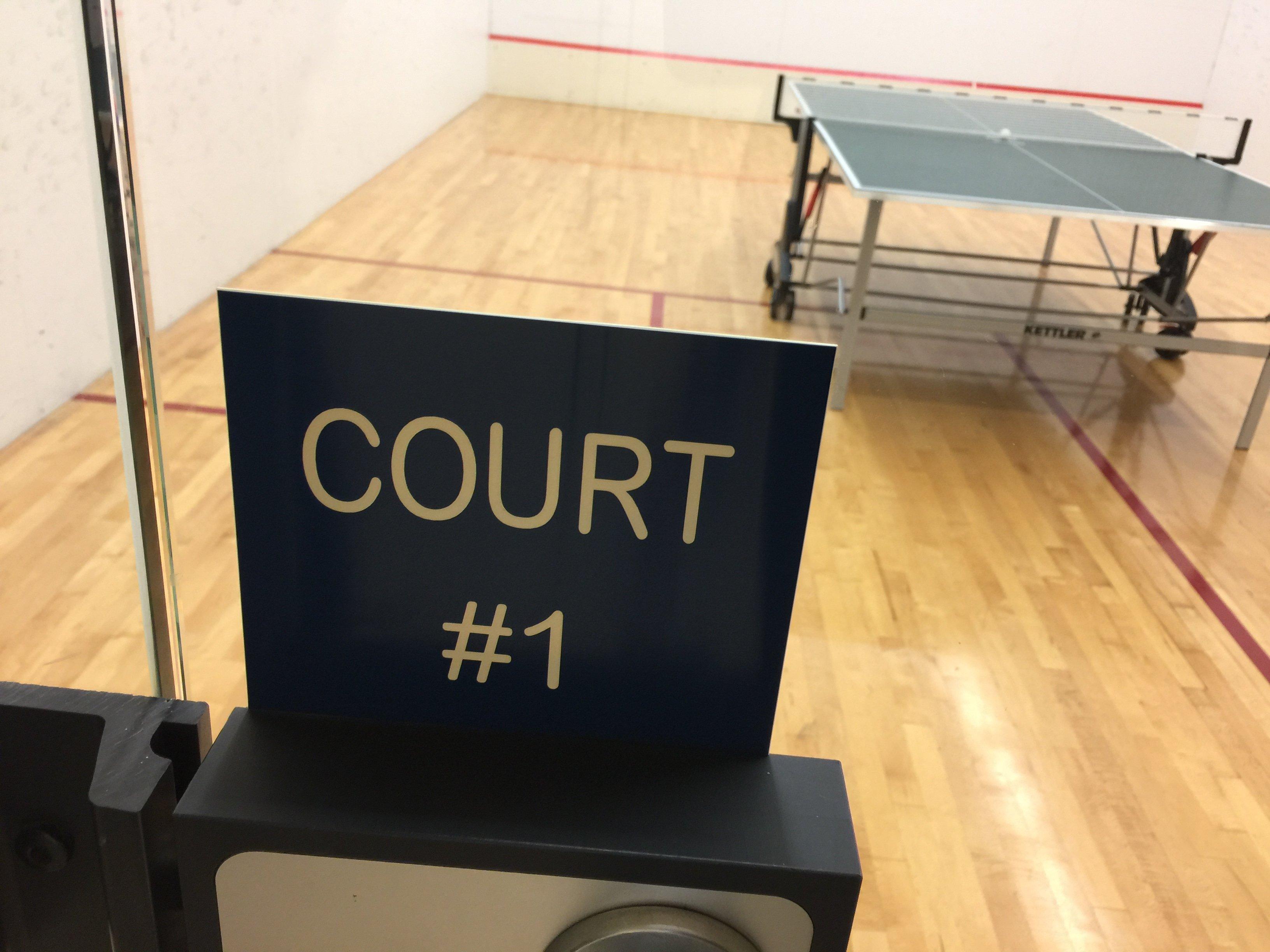 Avila Squash Court!