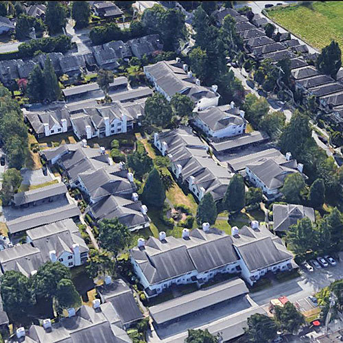 Typical part of the complex - 12940 17th Ave, Surrey, BC!