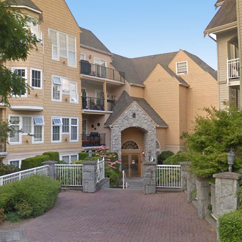 Typical part of the complex - 5556 14 Ave, Delta, BC!