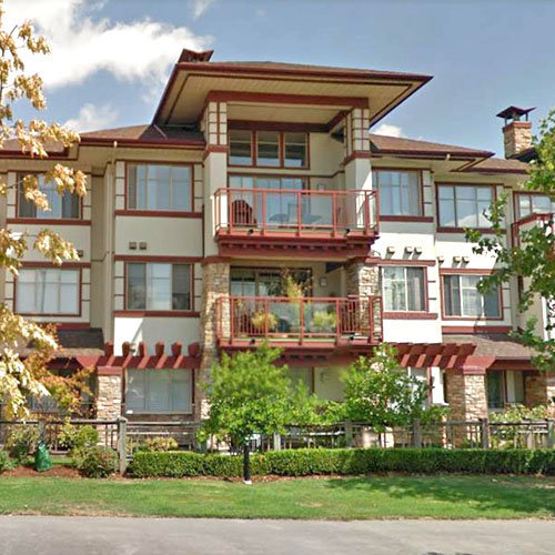 Typical part of the complex - 16499 64 Ave, Surrey, BC!