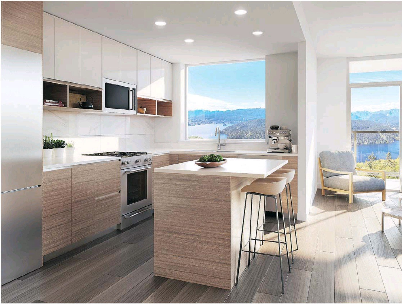 Rendering of Kitchen Space!
