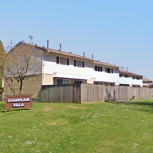 Champlain Villa - Typical part of the complex!