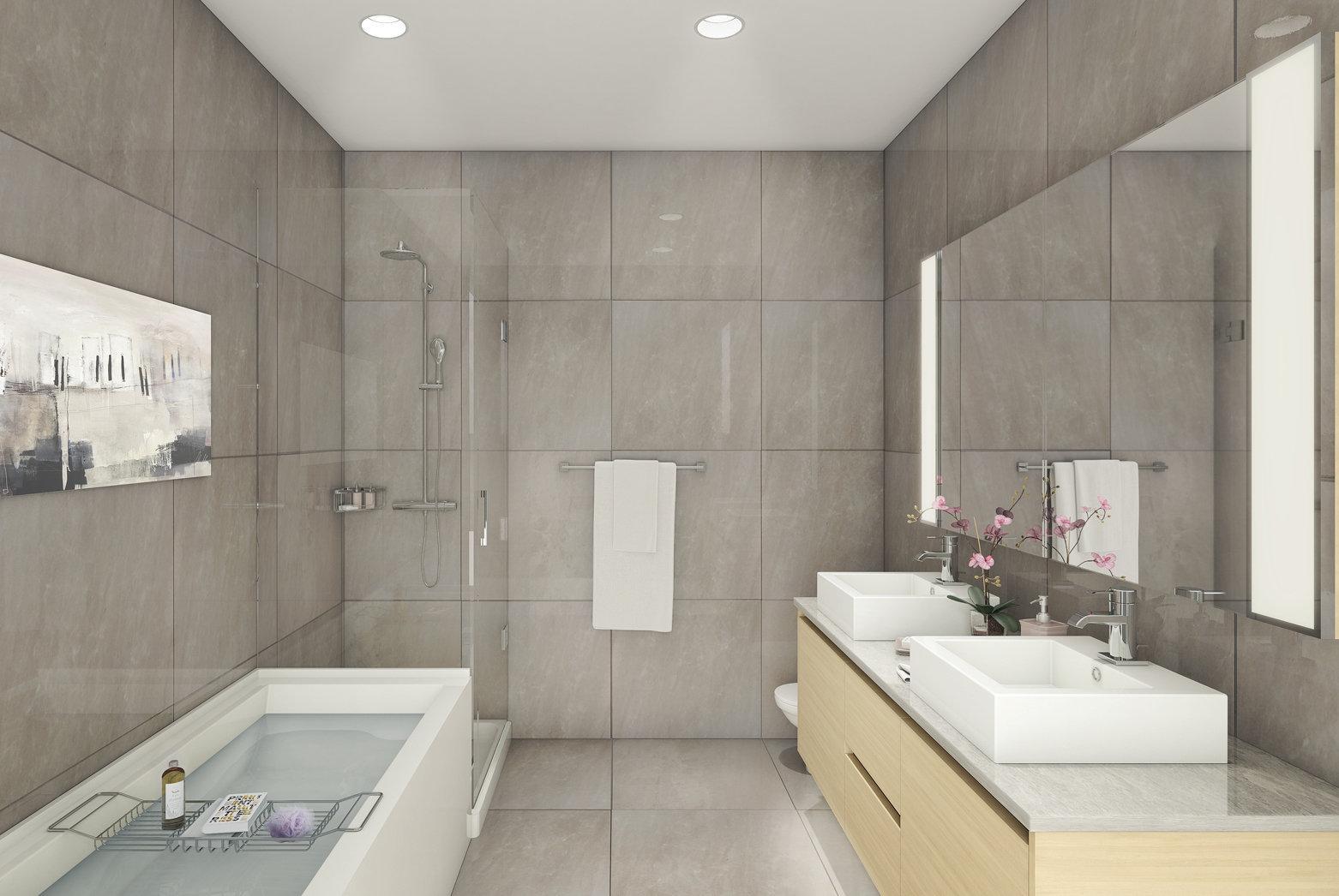 Etoile Display Suite Bathroom!