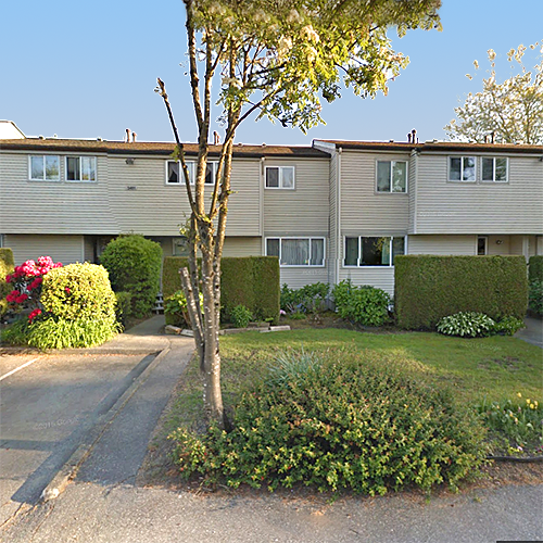 Typical part of the complex - 3405 E 49th Ave, Vancouver, BC!