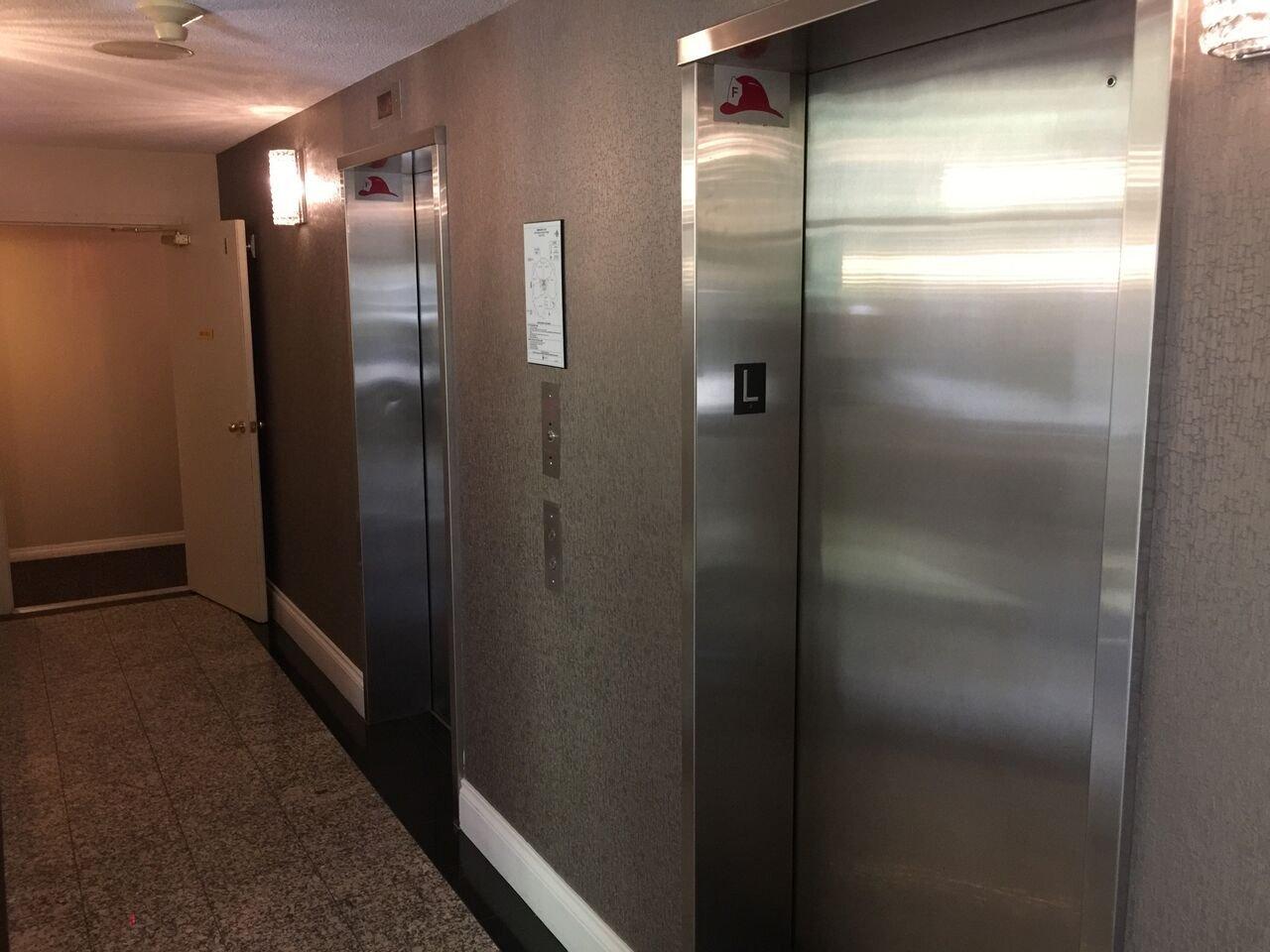 Wimbledon Lobby Elevators!