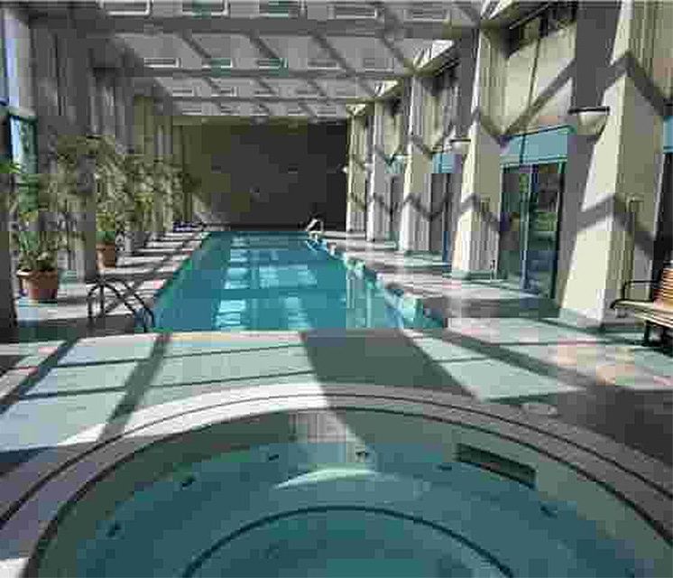Pacific Plaza Indoor Pool!