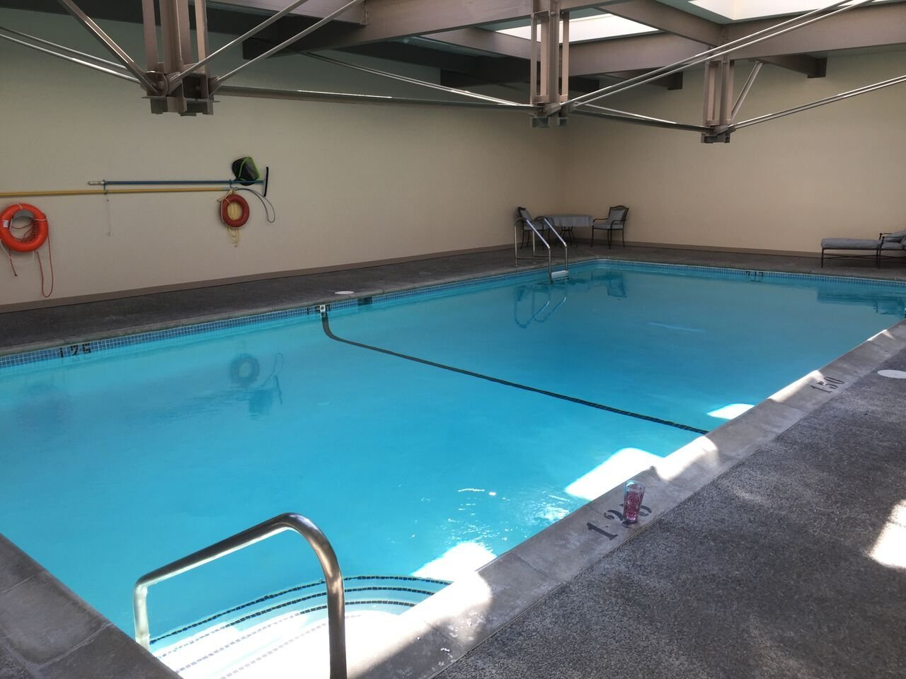 Shaughnessy Place Townhouses Indoor Pool!