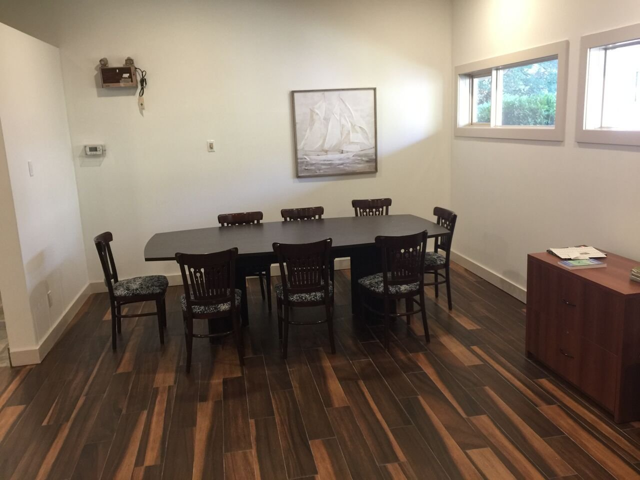 Shaughnessy Place Townhouses Community Centre Meeting Room!