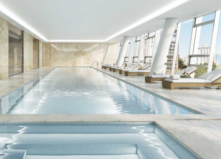 One Burrard Place Amenity Swimming Pool!