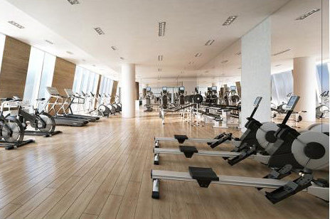 One Burrard Place Amenity Gym!