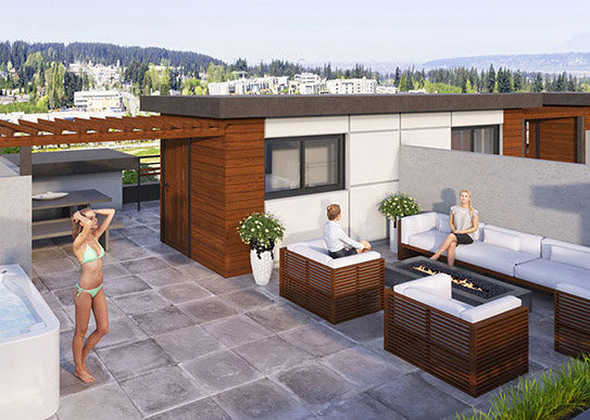 16355 23 Ave, South Surrey, BC V3S 0L8, Canada Rooftop patio!