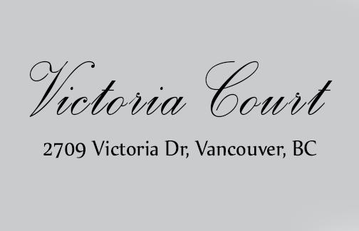 Victoria Court 2709 VICTORIA V5N 5T6