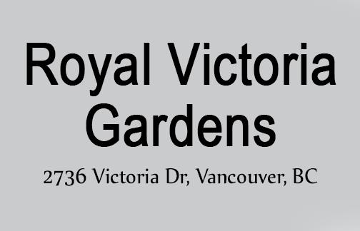 Royal Victoria Gardens 2736 VICTORIA V5N 4L4
