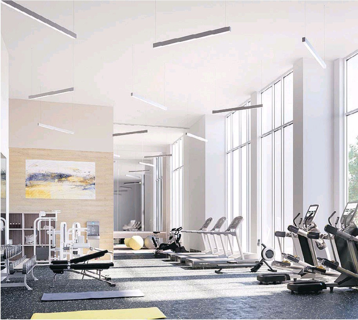 Juneau Rendering of Fitness Area!