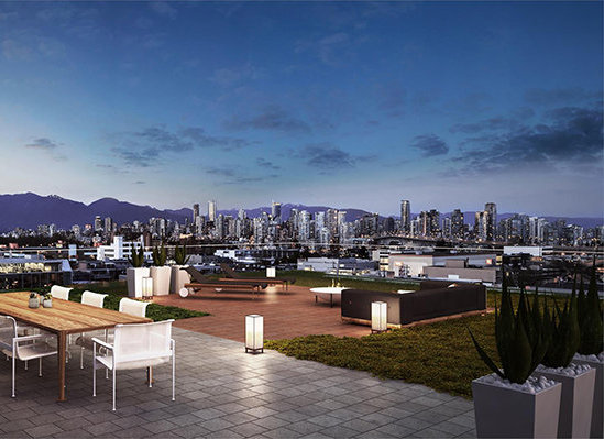 1819 West 5th Avenue, Vancouver, BC V6J 1P5, Canada Rooftop!