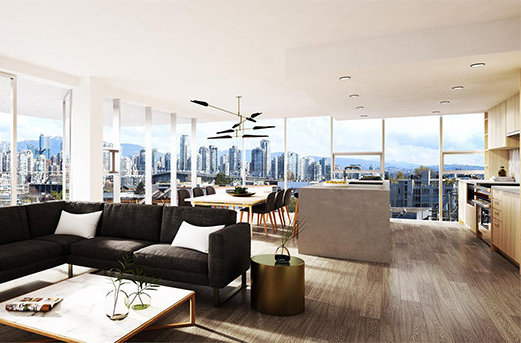 1819 West 5th Avenue, Vancouver, BC V6J 1P5, Canada Living Area!