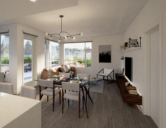 715 W 15th St, North Vancouver, BC V7M 1T2, Canada Dining Area!