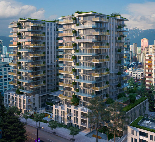 1385 Davie St, Vancouver, BC V6E 1N5, Canada Exterior!