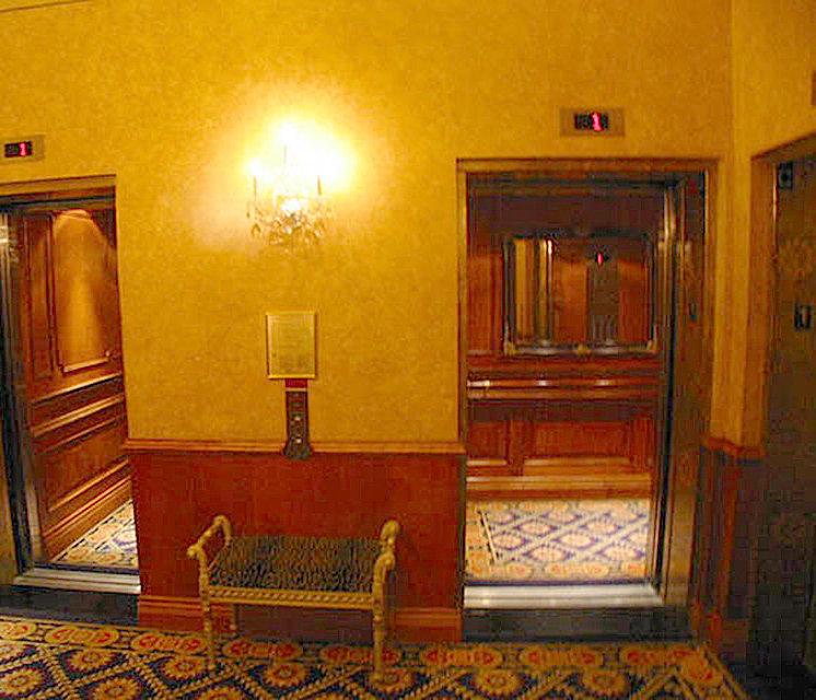 Le Soleil Lobby Elevators!