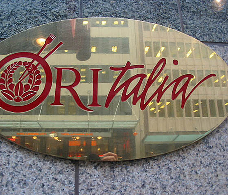 Oritalia Restaurant Sign!