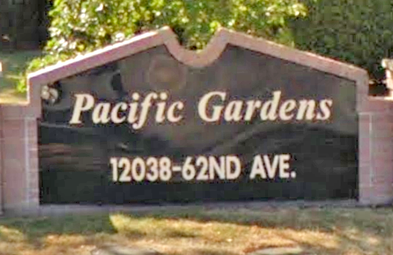 Pacific Gardens 12038 62ND V3X 1Y8
