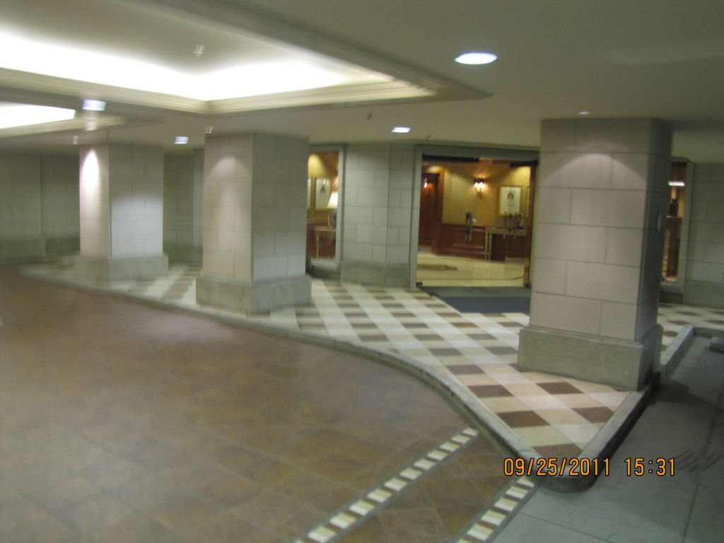 Lobby Entrance From Parkade!