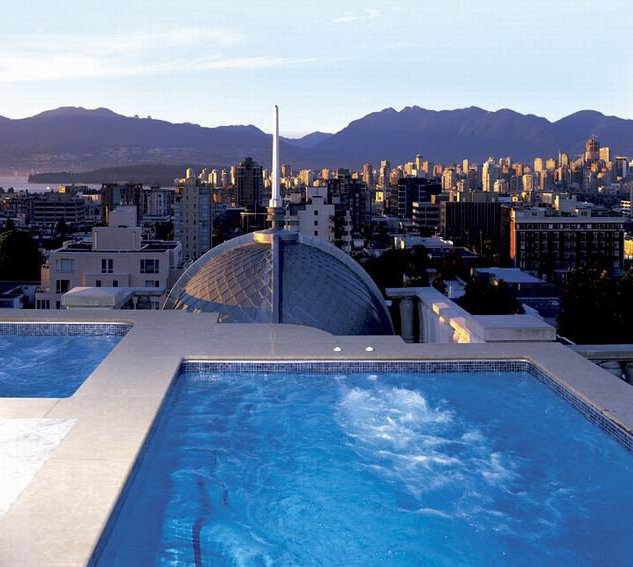 Roof Top Swirl Pool!