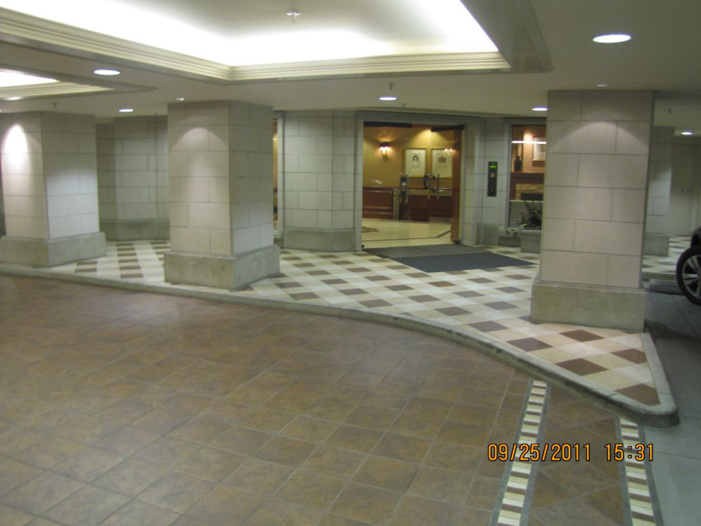 Parkade Entrance To Lobby!