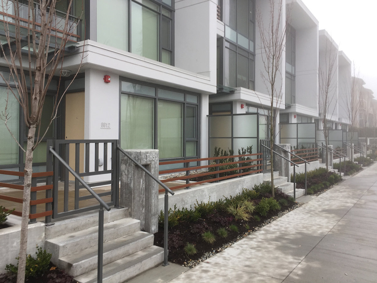 The Park Metrotown Townhouses!